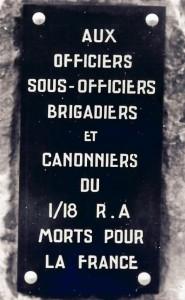 1 Monument aux morts