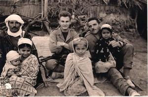 Claude Barthet  au 725 avec les habitants de la mechta