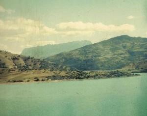 Lamartine - Le Barrage, vue sur l'Ouarsenis