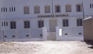 L'entrée de la Gendarmerie