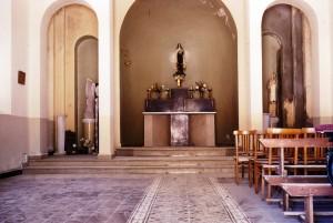 L'intérieur de l'église de Paul Robert