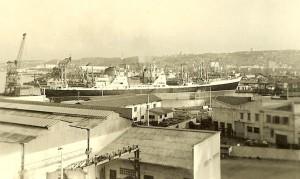 M Alger sortie du port