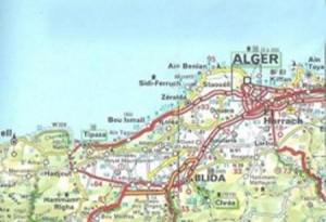M Carte d'Algérie