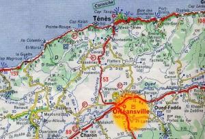 M carte Orléansville